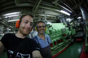 Scottie-Maschinenraum-Mittelmeer